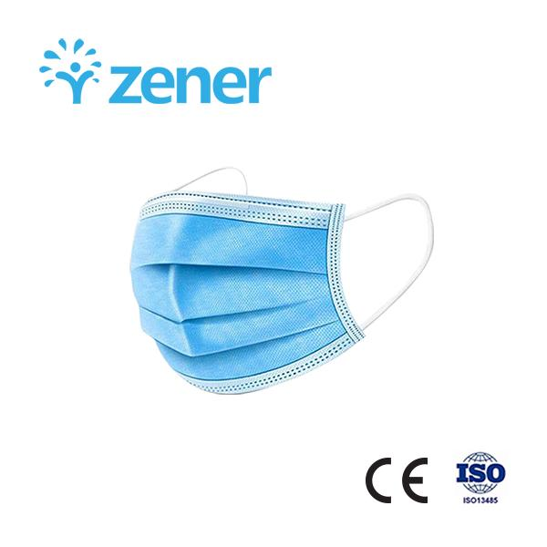 Disposable Protective Face Mask,CE,Melt-blown fabric,Protect against PM2.5,Civil 1