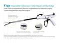 Vega- Disposable Endoscopic Cutter Stapler and Cartridge