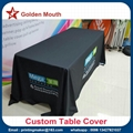 6 ft Table Cover Full Color 3 Sided Tablecloth 3