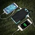 Dual usb 5000mah waterproof solar