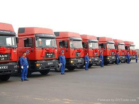 天津港集装箱陆运业务 1
