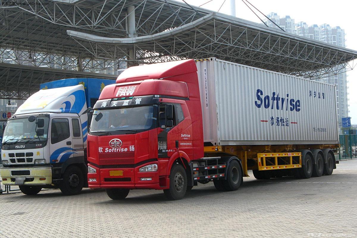 北京到天津港集装箱陆运服务 2