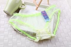 Women Transparent Sexy Underwear Lady Cute Breathable Lingerie Panties