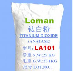 龍曼銳鈦型鈦白粉LA101二氧化鈦