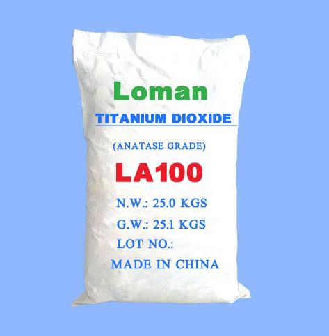 锐钛型钛白粉LA100高端涂料专用 1