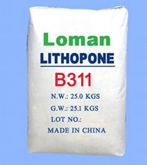 塗料專用立德粉高白鋅鋇白B311