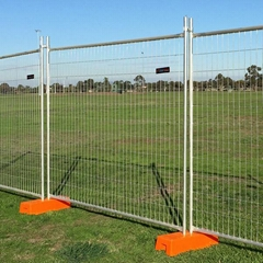 Hot-dipped Galvanized Canadatemprorayfence