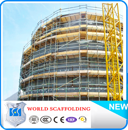 Construction durable galvanized factory price scaffolding frame 3