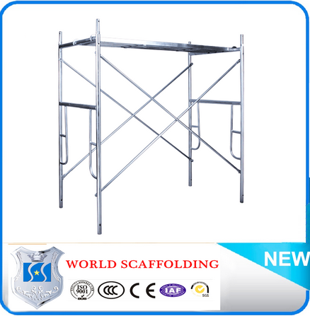 Construction durable galvanized factory price scaffolding frame 2