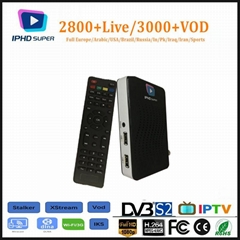 Support Stalker Xstream BISS  IPHD DVB S2 with premium IPTV