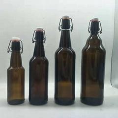 棕色玻璃瓶啤酒瓶