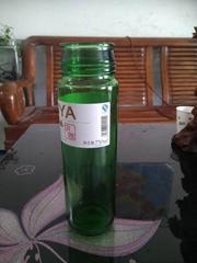 翠綠玻璃瓶