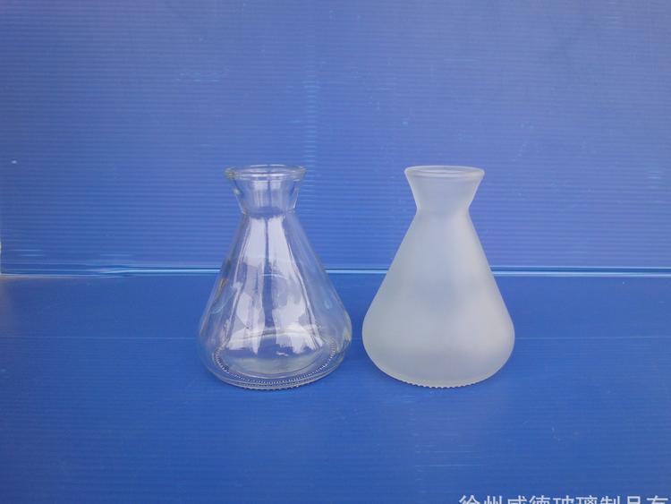 香薰瓶玻璃香薰瓶蒙砂瓶小酒壺清酒瓶出口玻璃瓶廠家直銷訂製瓶 1