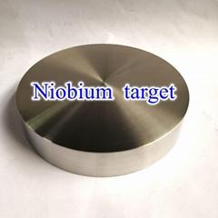 High purity niobium Nb target