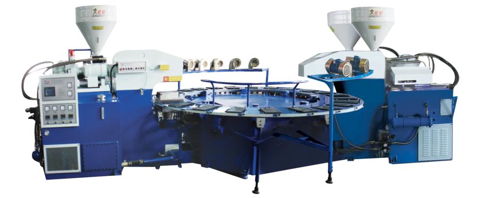 全自动多功能PVC吹泡式成型机 1