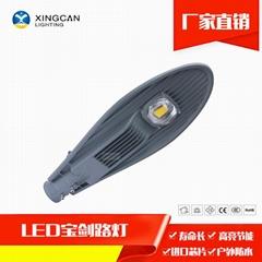 厂家特惠LED 30W宝剑路灯头 农村改造路灯
