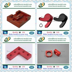 China CNC Machining Parts Anodized in Different Colors