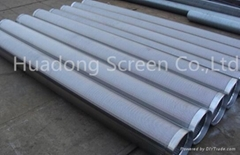 Wedge wire wound water treatment johnson screen