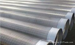 Water treatment johnson wedge wire welded filter element