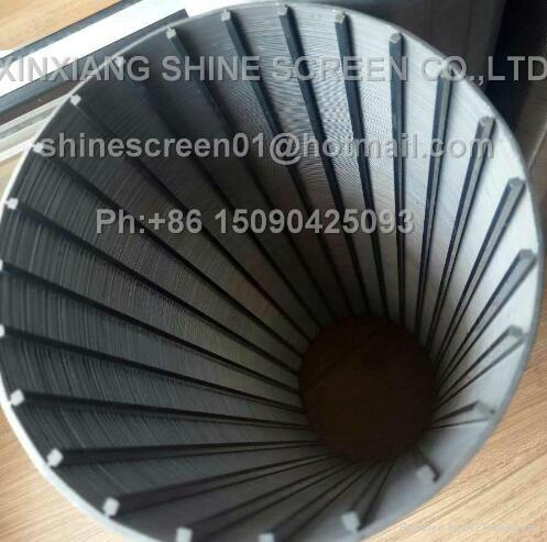 Water treatment johnson wedge wire welded filter element 3
