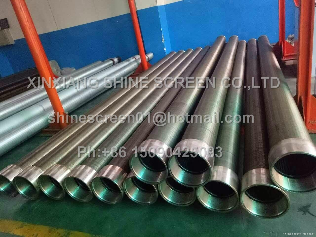 Wedge wire welded screen as So  ent filter element 3