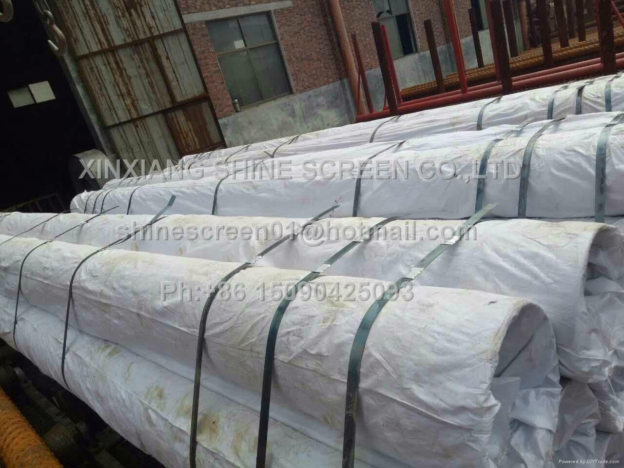 Wedge wire welded screen as So  ent filter element 5