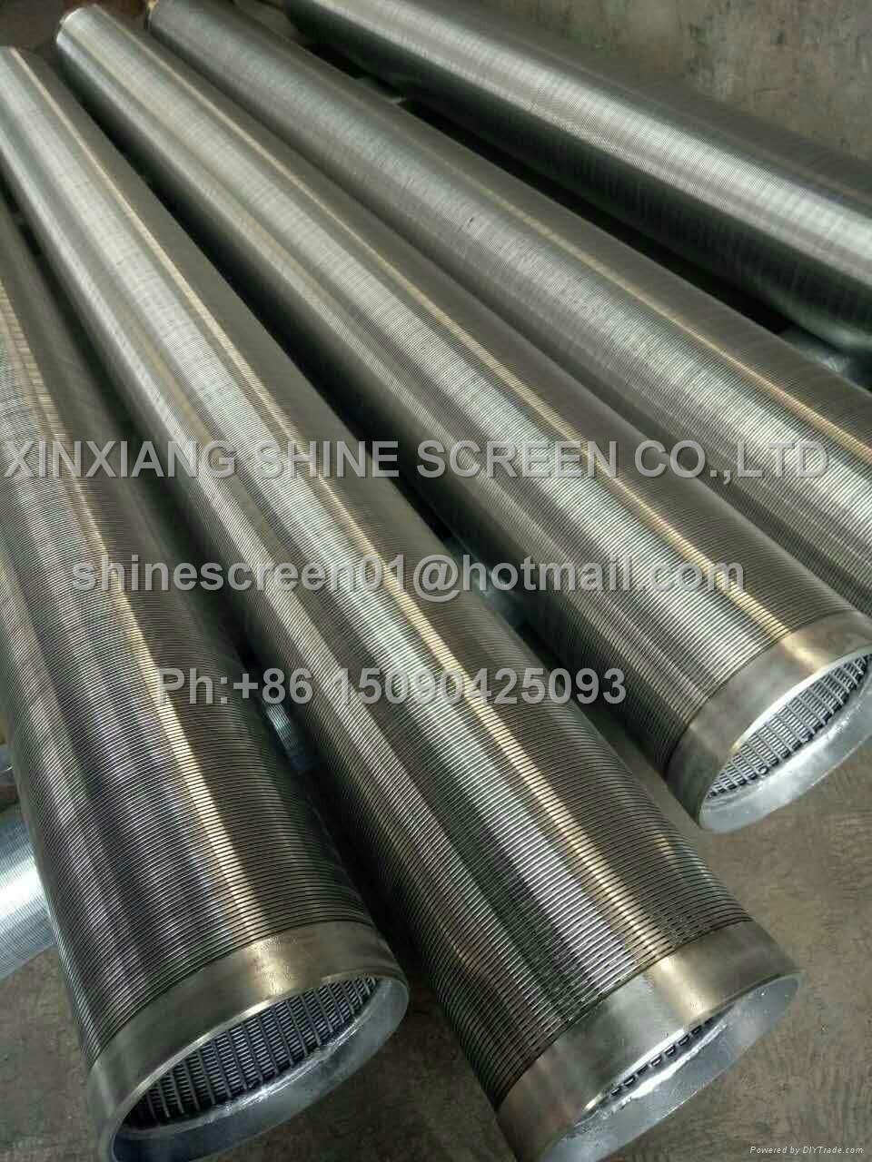 Filter element of sewage treatment filter equipment 1