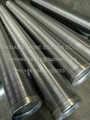 Filter element of sewage treatment
