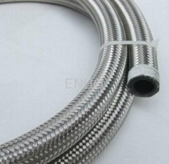 An4 An6 An8 An10 An12 An16 SS Braided Oil Cooler Hose With Nylon Outside Rubber