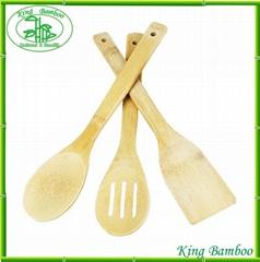 Eco-friendly Bamboo Kitchen Utensil Set
