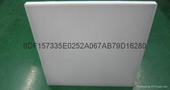 无边框扩散板300*300亚克力双面磨砂奶白板