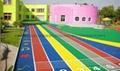 济南孟鑫幼儿园专用彩色塑胶地板