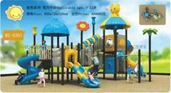 幼儿園大型組合城堡系列滑梯