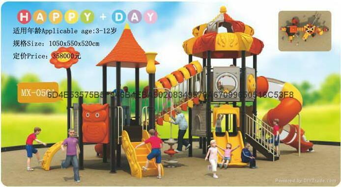 幼儿園大型組合城堡系列滑梯 4