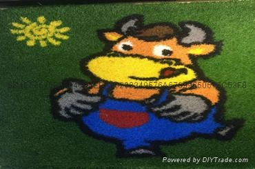 12生肖动物卡通仿真人造草坪 1