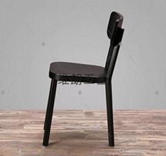 轻便舒适铝合金休电脑餐厅椅
