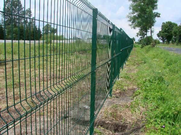 Welded Wire Mesh Fence 3