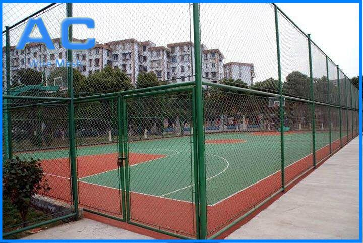 High Quality Ga  anized Chain Link Fence