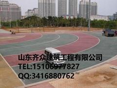 濟南章丘市小區透水混凝土總代直銷