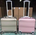 business aluminum luggage metal case with TSA Customs Lock 5