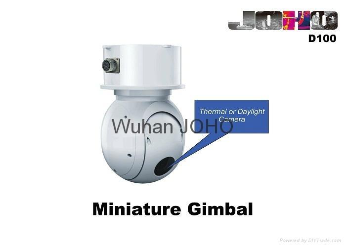 Micro Uav Eo IR Thermal Imaging Pod - D180 - JOHO (China