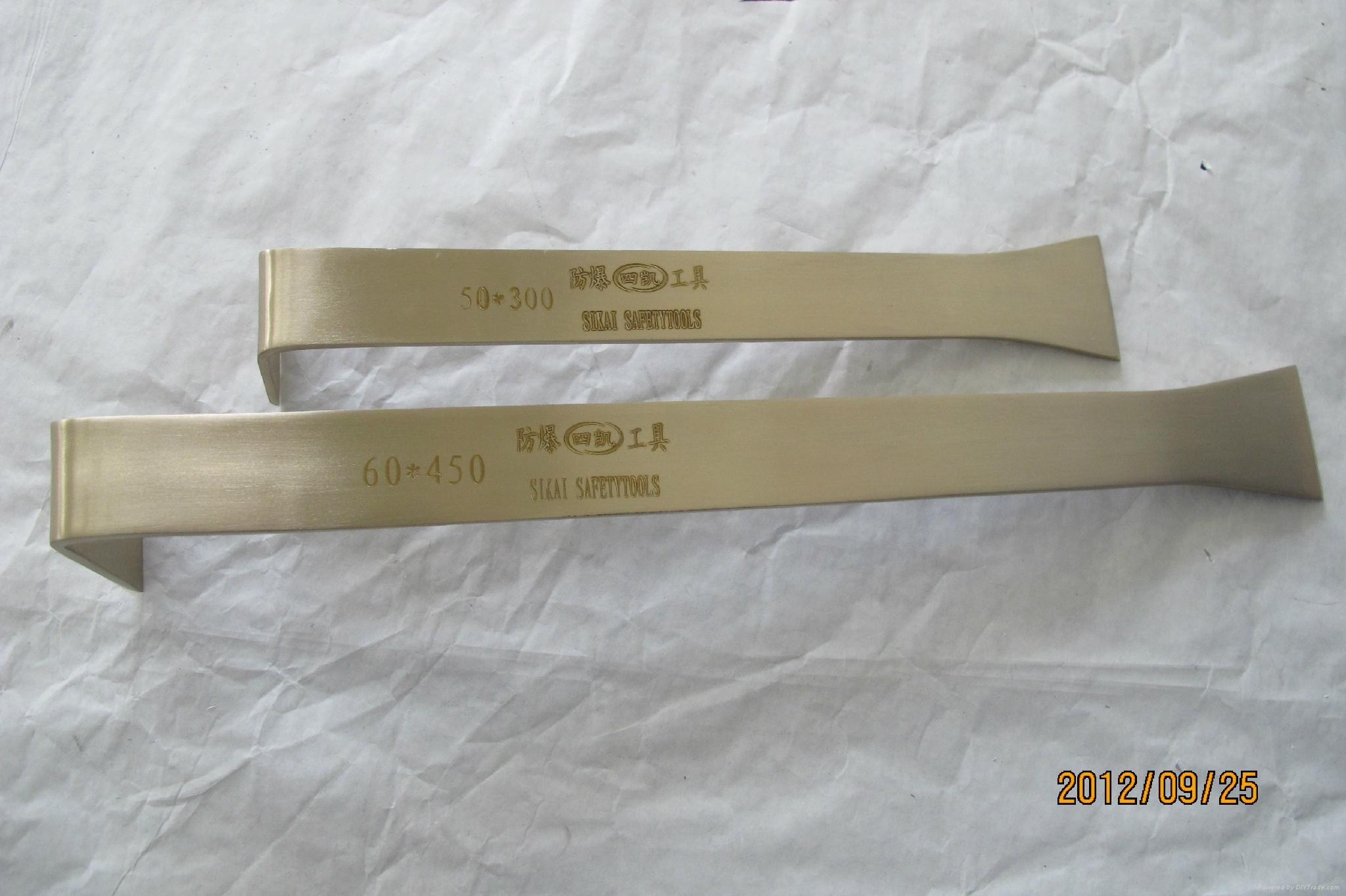 non sparking beryllium copper or aluminum bronze common knife 5
