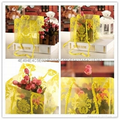 Wholesale Square Transparent Flower Wrapping Flower Packaging Plastic PP Bag