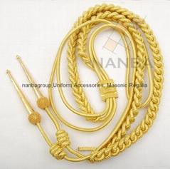 Gold Wire Aiguillette