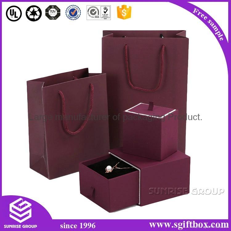 Luxury Handmade Custom Printing Jewelry Packaging Box Set 1