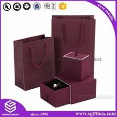 Luxury Handmade Custom Printing Jewelry Packaging Box Set