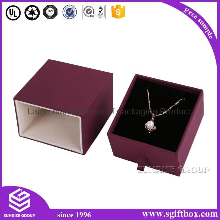 Luxury Handmade Custom Printing Jewelry Packaging Box Set 4