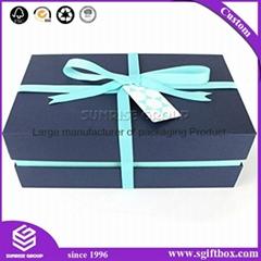 Premium-grade Elegant and Reusable Gift Box for Wedding or Baby Shower Gift