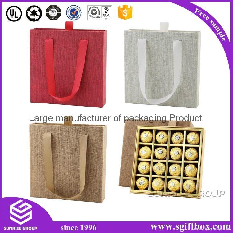 Gift Packaging Box Paper Bag Chocolate Packing Set 5