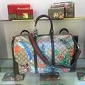 2018 New Gucci men women travel bag duffle bag luggage bag 1:1 quality